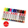 12 colors Permanent Marker Pen