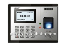 biometric access controller MX730 time recorder attendance with TCP/IP