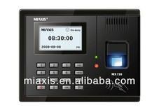 MX730 biometric time recording fingerprint time attendance fingerprint door lock