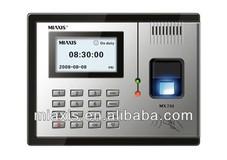 MX730 biometric fingerprint attendance machine RFID TCP/IP finger print