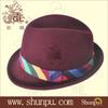 2013 new winter man 100% wool felt hat