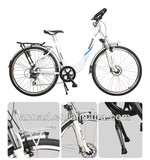 700C*1.5 Tire and lithium battery electric wagon bicycle with CE EN15194