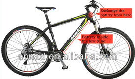 Fashion and Popular women electric city bike with EN15194 standard (ANNAD C1)