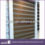 Hot sale blackout zebra blinds curtain fabric