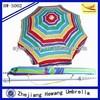 beach umbrella with screw base, promotional beach umbrella
