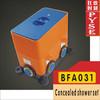 BFA031 brass chrome in wall shower body shower accessory