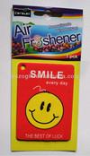 hanging freshener, car air freshener, advertising paper freshener