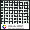 Spandex Fabric 100% Cotton Twill Printed Fabric Black and White Check Wholesale