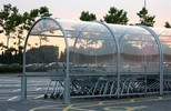 Clear Polycarbonate PC sheet for Parking shed