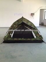 Double Layer Outdoor Tent Army Green