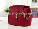 popular PU leather small lady handbag