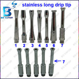 New E cigarette 510 stainless long atomizer drip from china