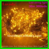 30m,300 leds led string light- led christmas light LFD-300Y