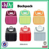 Wholesale jady fashion leather backpack custom design backpack make your own bag