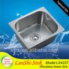 LL4337 bathroom sink stainless steel sink heat sink
