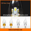 Good price led candle light 5w, led candle bulb, candle led E14 E27