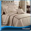 5 stars 60s 100%cotton luxury camel color bedding set