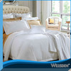 2013 newest white plain hotel bedding set luxury