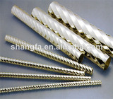 Good Bending,High Luster Stainless Steel Spiral Pipe