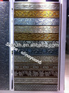 3D embossed decorative wall panel, 3d mdf wall board