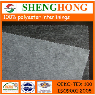 Double dot non woven fusible interlining