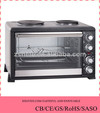 43L Home Appliance Electric Oven with Hot Plate