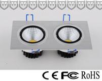 Light-headed venture dual-head emboldens lamp Double-head venture lamp
