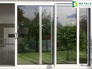 cheap and elegant quality of aluminium doors for export