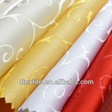 2014 New product flowery decorations fabric for the hotel table cloth use DT0332