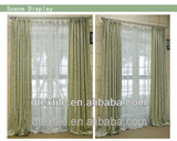 window curtains top design ready made jacquard curtain for living room F355-1