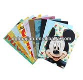Stationery plastic file folder