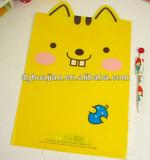 Wholesale office stationery, cartoon l shape file folder
