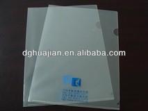 Clear l shape file folder,transprent file folder
