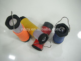 1W telescopic camping plastic chinese lantern,new products 2014,use 4*AAA battery