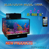glass mini usb/bluetooth tank aquarium for sale