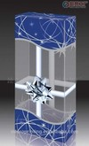 plastic transparant boxes,plastic cosmetic packaging,pvc box print,transparent plastic box for gift