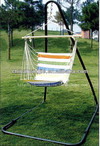 baby cotton hammock with metal stand