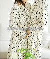 print bath robe/printed coral fleece bathrobe/coral fleece robes