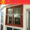 wooden aluminum profile sliding window grill design