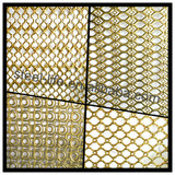 Laser cutting stainless steel decorative wall covering hollow out sheets
