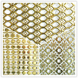 Top glaring colored corrugated decorative perforated sheet metal for KTV ceiling