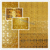 New design 3D luxurious decorated diamond plate stainless steel sheet