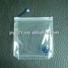 Opaque eco-friendly pvc zipper bag clear pvc bag