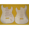 SSH Guitar Replacement Body For Strat Guitar Unfinished