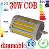 30W COB R7S led light 118mm dimmable
