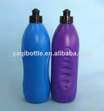 sport 500ml soft plastic water bottle