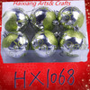 HX1068 plastic christmas balls personalized christmas ornament wholesale christmas tree decoration ball