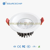 LED downlight 15w recessed COB downlight