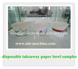 Eco-friendly paper soup bowl making machine (MB-D35)