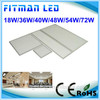 Hot Sale 3 Years Warranty white color square flat led panel light
